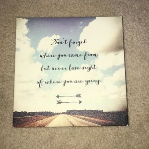Cute sign perfect for a dorm room or home